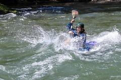 Piragüismo (jlmontes) Tags: catalunya españa spain lleida rio piragua nikond7000
