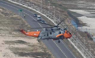 Westland Sea King HU 5 ZA166 Heli Operations Portland 019-1