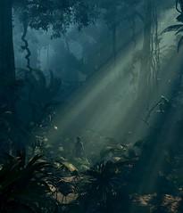 ''Lost'' (HodgeDogs) Tags: shadowofthetombraider gaming games videogames tombraider squareenix photomode pc nvidia crystaldynamics jungle tree lightning