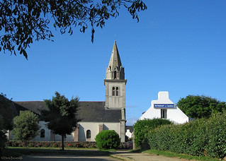 Belle-Île-en-Mer: Bangor church