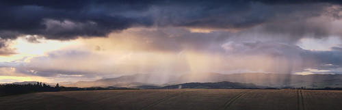 Sunset and Showers
