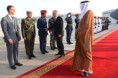 Mattis Travels to United Arab Emirates (Secretary of Defense) Tags: ussecretaryofdefensejamesnmattis unitedarabemirates ministerofdefensemohammedbinrashidalmaktoum jimmattis aldhafraairbase