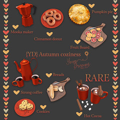 {YD} Autumn coziness ({Your Dreams}) Tags: yourdreams food limit8event cute autumn