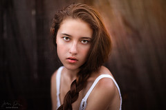 Lauren ({jessica drossin}) Tags: woman jessicadrossin portrait hair braid brown eye face wwwjessicadrossincom