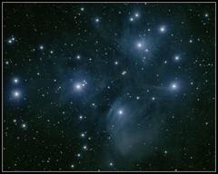 M45 - The Pleiades (Socalastro) Tags: stars cluster star starry nebula messier deepsky deepspace sky nightsky bluesky astronomy astrophotography astropho astro blue qsi astrometrydotnet:id=nova2781324 astrometrydotnet:status=solved