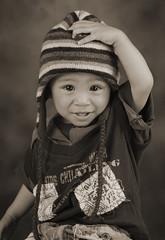 A Time of Innocence (Adriansyah Putera) Tags: gabrielalan child boy toddler childhood balita innocence smile mommyslittleboy tersenyum polos toddlerportrait youngchild