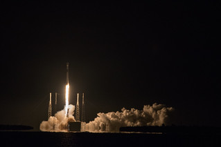 SpaceX launch with Telstar 18V
