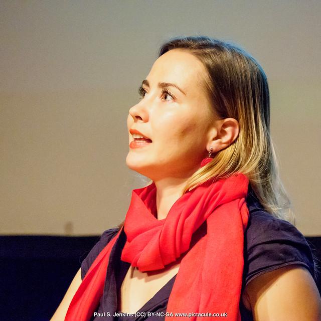 P8300177 Joanna Bagniewska at Winchester Skeptics