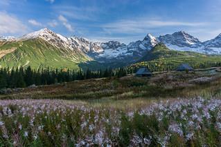 Tatra mountain landscape