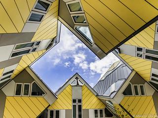 Maison cube à Rotterdam