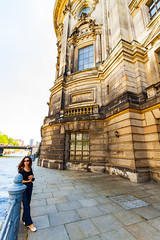 Ligia (Raoul Pop) Tags: relief act building historic person time structure quay river spreeriver summer rotunda ligia baroque travel technology descriptor eaves object neoclassic city europe art architecture trip berlin germany de