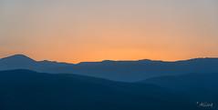 magic (Just me, Aline) Tags: 201807 alinevanweert sabie southafrica zuidafrika sunset zonsondergang sky lagen layer mountain bergen explore