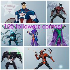 100 followers contest  (read desc) (jooshfigs) Tags: contest legocustom dc marvel movies movie game comicbook lego drawing minifigures comic jooshfigs