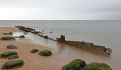 Hunstanton Wreck (ctrolleneos) Tags: canon80d 1585 hunstanton norfolk longexposure