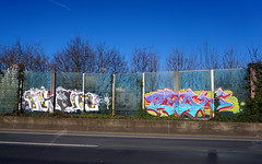 Graffiti in Köln/Cologne 2018 (kami68k -all over-) Tags: köln cologne 2018 graffiti illegal bombing bunt pham puton