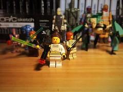 You Call This A Diplomatic Solution? (Lord Allo) Tags: lego star wars attack the clones padme amidala aggressive negotiations