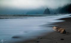 Gloomy weekend! (ashpmk) Tags: wa washington washingtonstate pacificnorthwest pacific pacificcoast pacificocean pnw northwest nw longexposure ocean oceanography