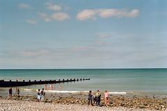 Cromer beach (tercrossman87) Tags: canon ae1 program 50mm 18 fdn fujifilm fuji c200 bellini c41 kit home development film plustek 8200i