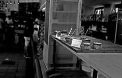 Balearic Pintxos (Gabo Barreto) Tags: mahon menorca balearicislands baleares tapas pintxos food bar film 35mm kosmofotomono blackandwhite monochrome vivitar35es xtol selfdeveloped scannedfromfilm epsonv500