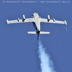 8672 Strikemaster (photozone72) Tags: eastbourne airshows aircraft airshow aviation strikemaster strikedisplay markpetrie canon canon7dmk2 canon100400f4556lii 7dmk2