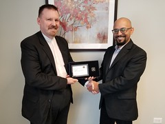 Neptune Society Arvada, CO - Congratulations to James Jackson-Ward on 10 years of Service