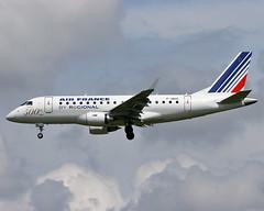 F-HBXC Embraer 170 Regional (@Eurospot) Tags: fhbxc toulouse blagnac regional embraer e170 airfrance