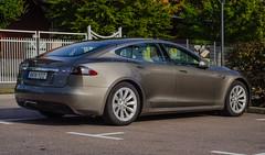 A Swedish Tesla (frankmh) Tags: car electriccar tesla helsingborg skåne sweden