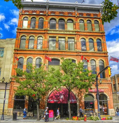 Hamilton Ontario - Canada - Right House Department Store  - AKA - Thomas C  Watkins Building  - Heritage