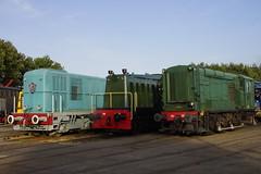 VSM NS 532, 2019 en 2412 in het depot van station Beekbergen 30-08-2018 (marcelwijers) Tags: vsm ns 532 2019 en 2412 het depot van station beekbergen 30082018 veluwsche stoomtrein maatschappij lieren gelderland veluwe nederland niederlande netherlands pays bas diesel treinen trein locomotief lokomotief locomotive lokomotive tren train trenes treno line up