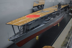 IJN Akagi (nikousen94) Tags: kure musem yamato naval world war 2 imperial japanese navy ijn battleship aircraft carrier cruiser battlecruiser destroyer submarine aviation zero fighter bomber torpedo scale model flag japan hiroshima aerial reconnaissance