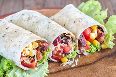 Three chicken burritos (Taco Shop Tyler) Tags: appetizer background beans board bread burrito burritos cheese chicken chili closeup color colorful cream cross cut dinner eat fast filled food fresh green homemade hot lettuce lunch macro meat mexican onion pepper portion salad salsa sandwich sauce section snack sour spicy stilllife stuffed three tomato top tortilla vegetable view wooden