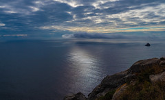 Nunca dejes de mirar. (Jesus_l) Tags: europa españa galicia acoruña finisterre mar nubes jesúsl