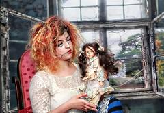 Dolls (Allan Jones Photographer) Tags: doll dolls makeup arty artistic sophie allanjonesphotographer canon5d3