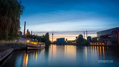 River Spree in Berlin (allthingsberlin) Tags: berlin bridgebuiltstructure germany oberbaumbruecke lighttrail blurredmotion city transportation modeoftransport onthemove road sky traffic architecture backlit buildingexterior builtstructure capitalcities citylife dusk emotion horizontal illuminated landvehicle lightnaturalphenomenon longexposure nopeople outdoors photography railroadcar railroadstationplatform railroadtrack speed streetlight subwaytrain taillight tower travel traveldestinations twilight cityscape europe europeanculture germanculture old statue tourism vacations spree river