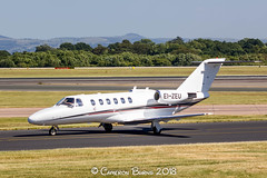Private Sky EI-ZEU Cessna 525A (IMG_8783) (Cameron Burns) Tags: privatesky private sky eizeu cessna cessna525a 525a white red manchester airport manchesterairport man egcc ringway viewing park airfield aviation aerospace airliner aeroplane aircraft airplane plane canoneos550d canoneos eos550d canon550d canon eos 550d uk united kingdom unitedkingdom gb greatbritain great britain europe action