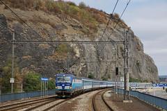 193.298 Usti Nad Labem (Gridboy56) Tags: ustinadlabem cz czech czechrepublic 193 193298 coaches coach ec379 praha kiel vectron siemens