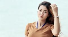 My hair..... (Stefan Wirtz) Tags: lukshao girl thaigirl woman thaiwoman frau thailand kophiphi haare hair