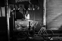 a lonely night for the ice cream man (charlesgyoung) Tags: delhi d500 olddelhi india rajasthan charlesyoung karineaignerphotographyexpedition streetphotography nikon nikonphotography nikondx