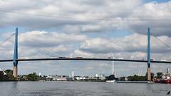 Hamburg (unicorn 81) Tags: hamburg brücke deutschland germany elbe schrägseilbrücke strasenbrückeinhamburg hamburgerhafen steinwerder hafen hafenrundfahrt hansestadt