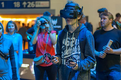 Microsoft Mixed Reality Headset and Controllers being used (marcoverch) Tags: 2018 aussteller messe deutschland messeberlin elektronik besucher berlin ces neuheiten visitor mobile ifa funkausstellung küche 2019 technik kitchen people menschen festival adult erwachsene competition wettbewerb music musik wear tragen man mann group gruppe performance veil schleier woman frau outfit recreation erholung street strase concert konzert portrait porträt strange seltsam exhibition ausstellung eyewear brillen convention konvention september desert spider flying streetart asia nikkor natur ice hiking microsoftmixedreality headset controllers beingused