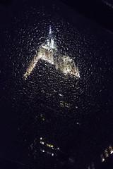 Empire State Bubbling (Arnø N°XX) Tags: building night skyscraper gratte ciel urban city rain pluie