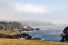 The amazing scenery along the Pacific Coast Highway around Big Sur, CA (adventurousness) Tags: ca california highway 1 ocean fog road trip pacific coast big sur sea cliff bigsur highway1 pacificcoasthighway pacificcoast roadtrip monterey unitedstates us