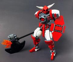 Getter Burst (Lord-Oblivion) Tags: mecha system fire getter getterrobo robot mech axe war