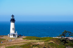 Yaquina Head Lighthouse, Newport Oregon (fandarwin) Tags: yaquina head lighthouse newport oregon darwin fan fandarwin olympus omd em10