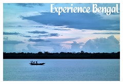 Experience Bengal - Fishermen at Blue Hour (River Rupnarayan) (pallab seth) Tags: fishermen rupnarayan river hotelsonarbangla kolaghat bluehour evening sunset landscape bengal india tour travel tourism