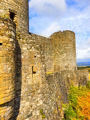 Harlech Castle, Gwynedd, Wales (photphobia) Tags: harlech gwynedd wales uk greatbritain oldwivestale oldtown seasidereort historic castletown outside outdoor castle castillo