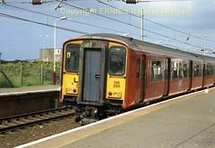 Newton on Ayr 318 265s150 (Ernies Railway Archive) Tags: newtononayrstation falklandyard gswr lms scotrail