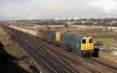 Ayr, Falkland 20100+102 April 1984  c632 (5) (Ernies Railway Archive) Tags: ayr falklandyard gswr lms scotrail