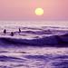 Sunset Surfers, San Clemente, CA 1990