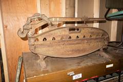 Antique asbestos shingle cutter (quinet) Tags: 2018 antik britishcolumbia canada heritageacres saanichton ancien antique 124